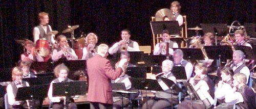 Terrace Community Band 20 Anniversary concert, REM Lee Nov 16, 2002