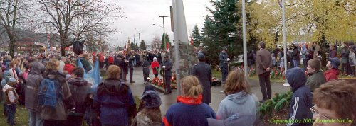 Laying of Wreaths at Centopath.